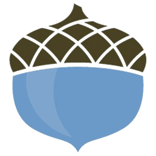 The Columbus Foundation acorn graphic